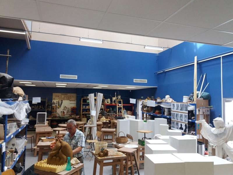 Atelier public de sculpture de Laval (APSL)